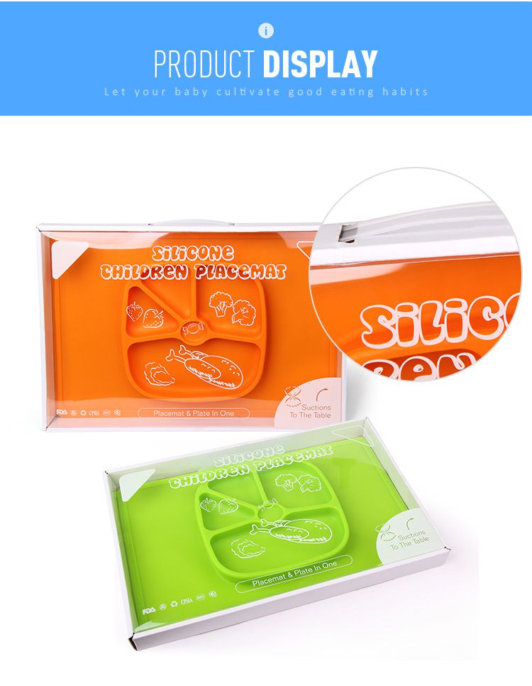 silicone placemat baby packing