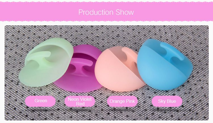 Silicone face brush, Silicone face scrubber