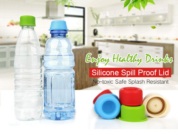 Silicone spill proof lid for your kids, food grade silicone lid