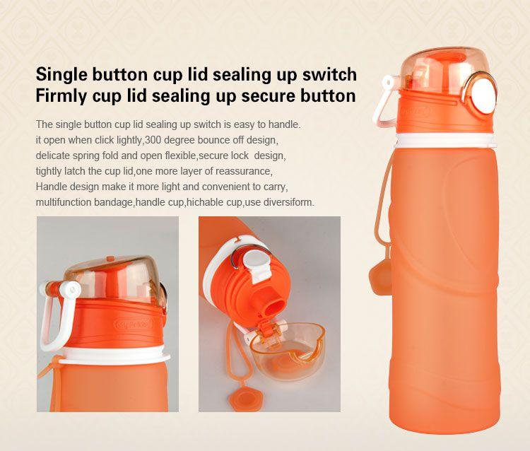 collapsible water bottle,