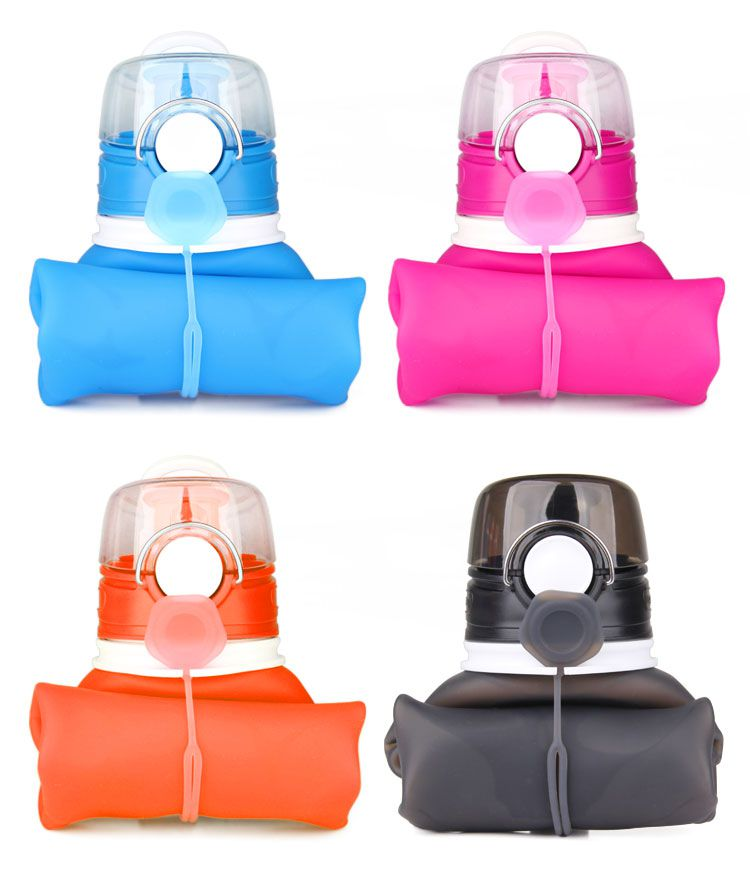 filter silicone water bottle