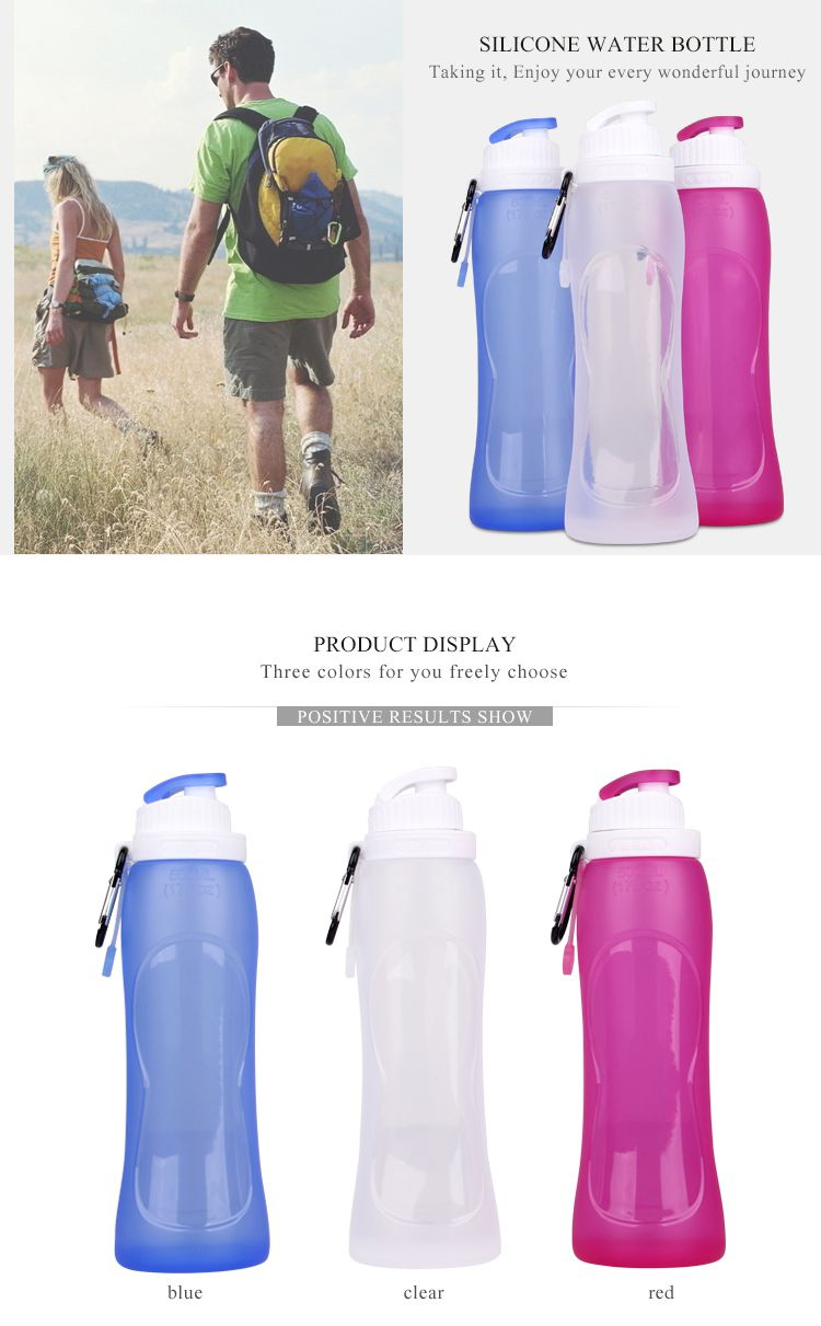 Foldable Water Bottle >> Wholesale Foldable Water Bottle, Printed With Your Logo or Design Foldable water bottle wholesale