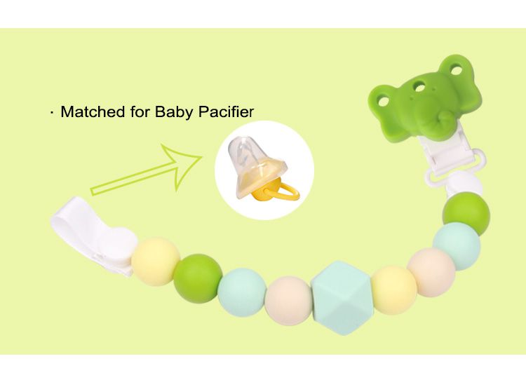 Cute pacifier clips
