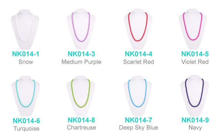 Teething necklace for babies