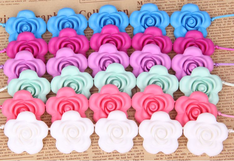 custom silicone beads new color, new style