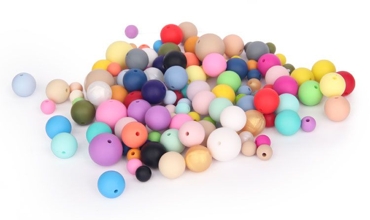 Bpa Free Silicone Beads for teething China Manufacturer