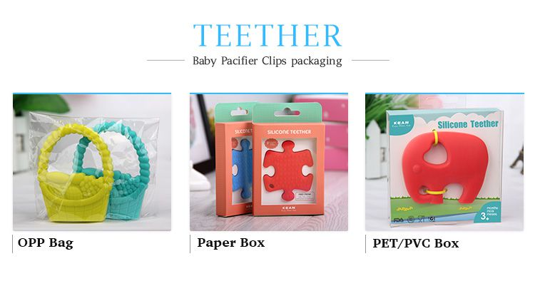 Silicone Teether packing