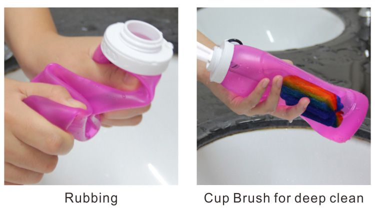 How To Clean A Collapsible Water Bottle How To Clean A
