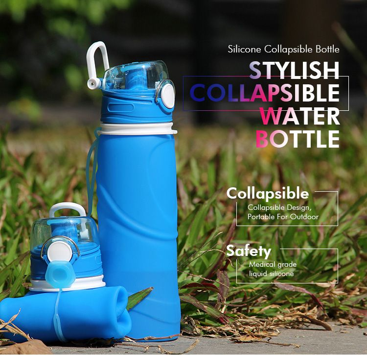Collapsible Water Bottle for Kids, bpa free water bottle wholesale