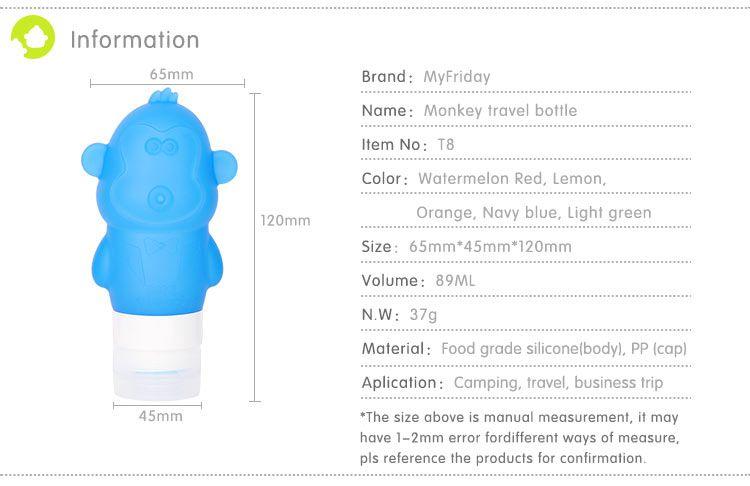 Travel Shampoo Bottles