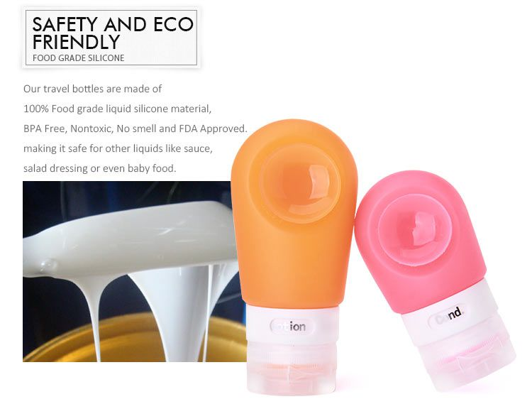 safety and eco friendly travel bottles