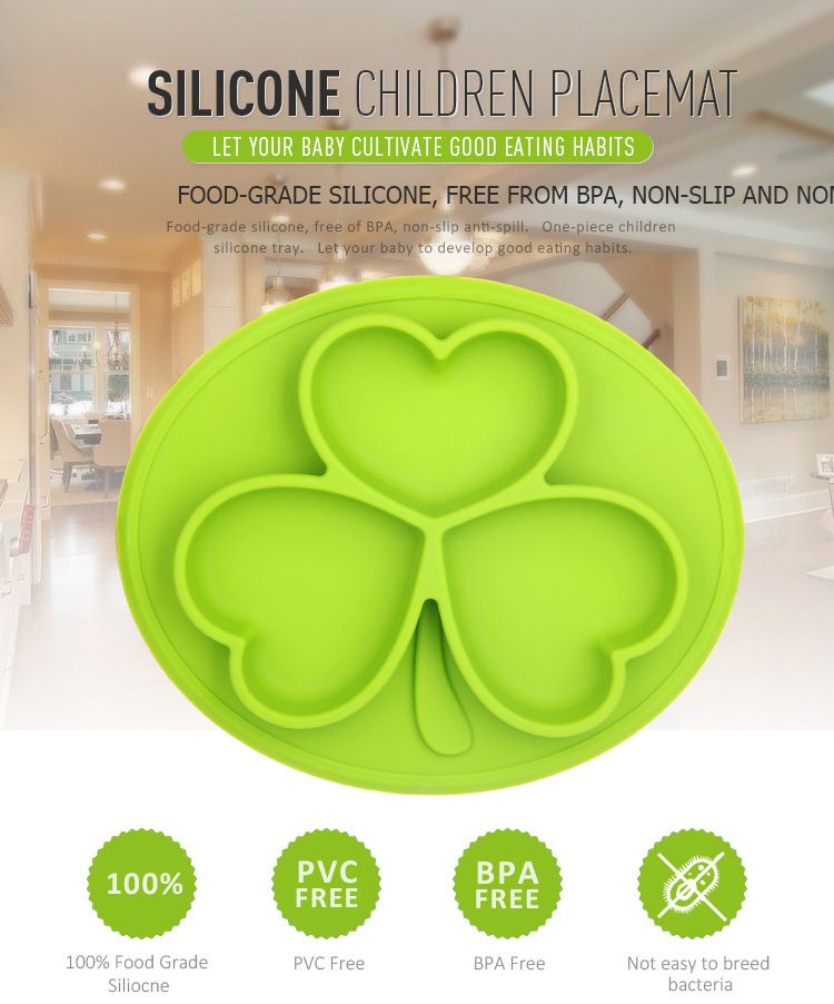 silicone placemat plate