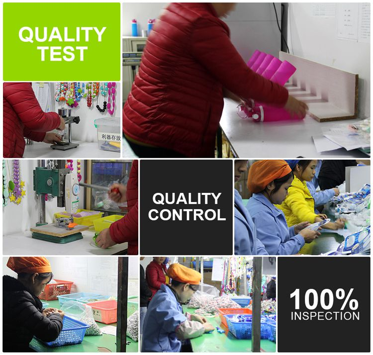 silicone teether Quality control