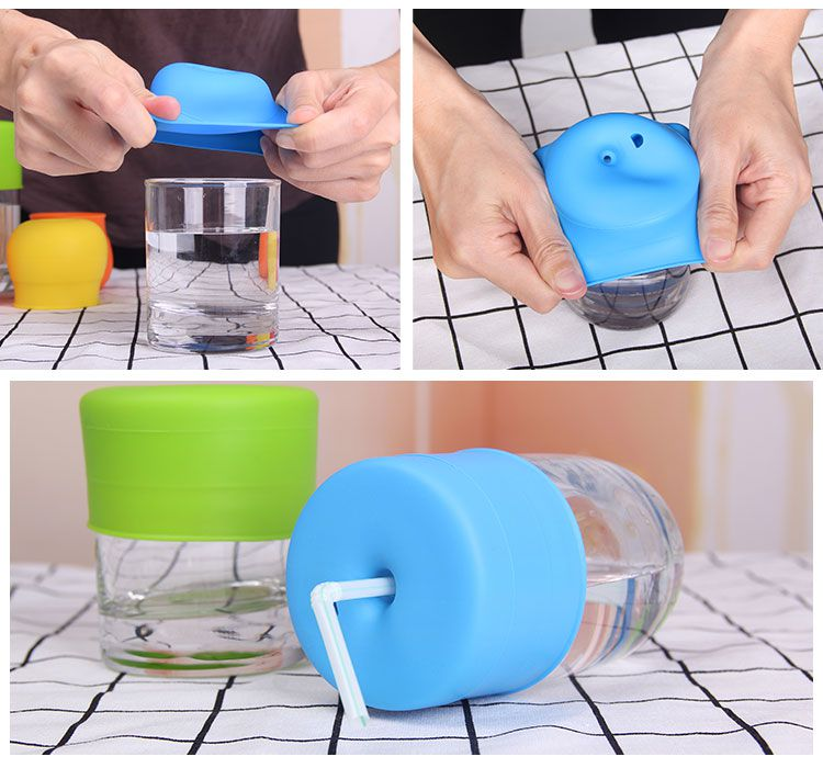 silicone spill-proof sippy cup