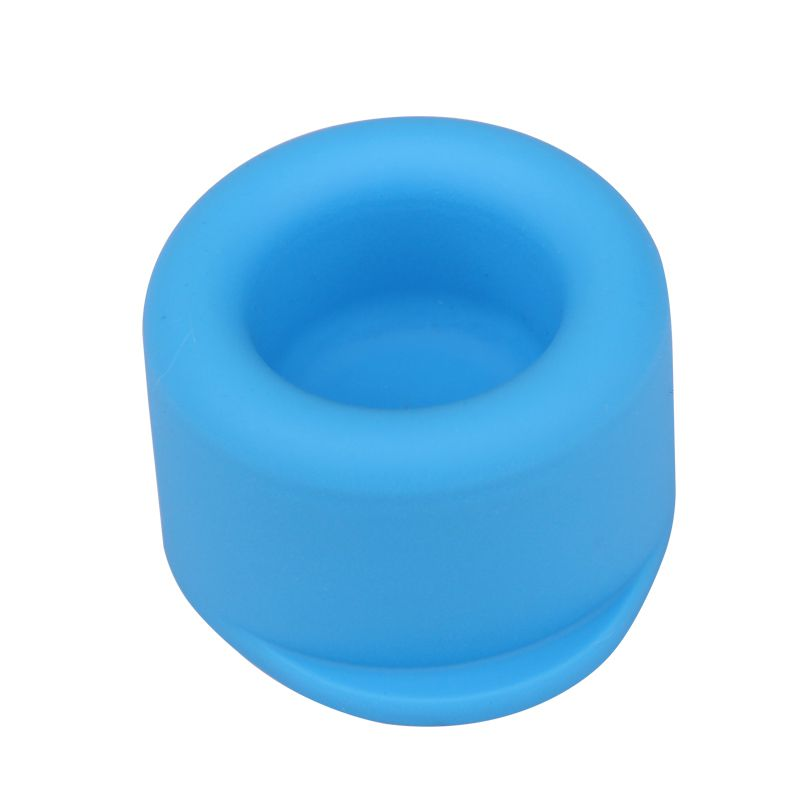 Silicone spill proof lid