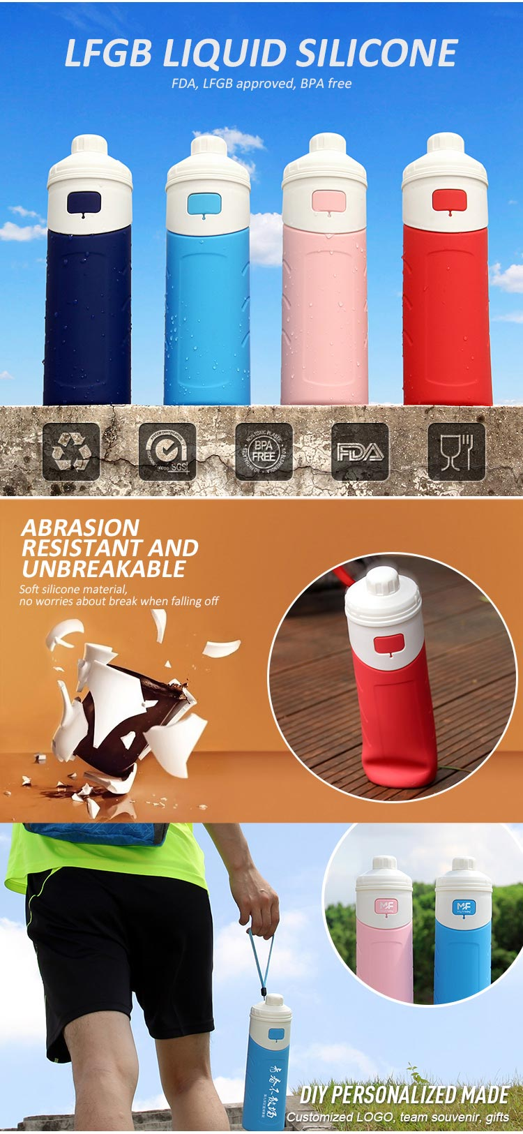 aluminum insulated water bottle