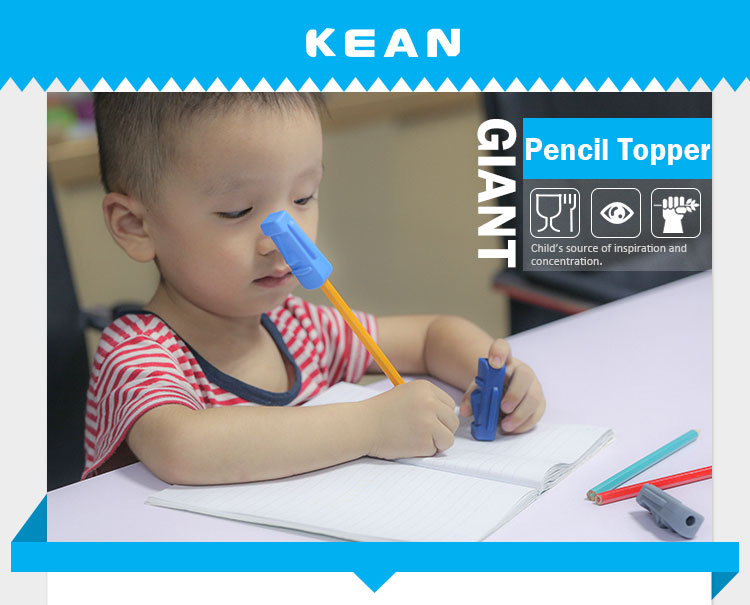 Silicone pencil topper, chewelry pencil toppe wholesale