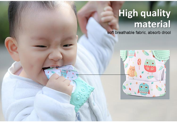 Teething glove for babies