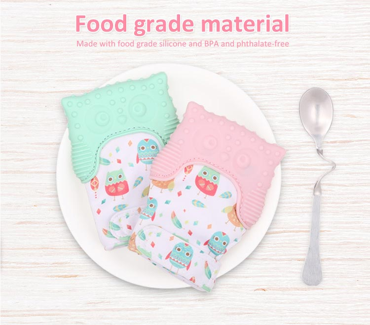 food grade teething glove