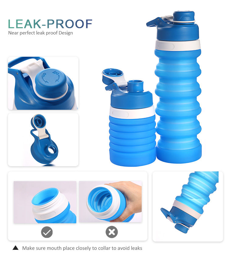 wholesale collapsible water bottle