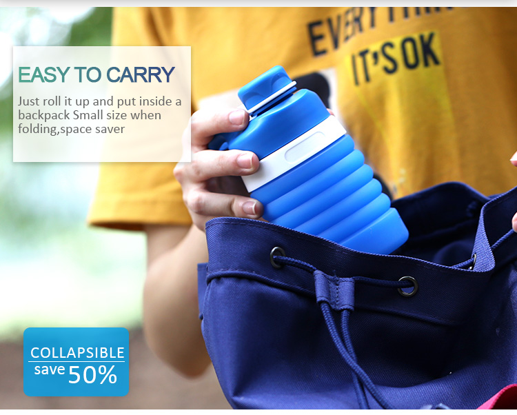 gifts collapsible water bottle