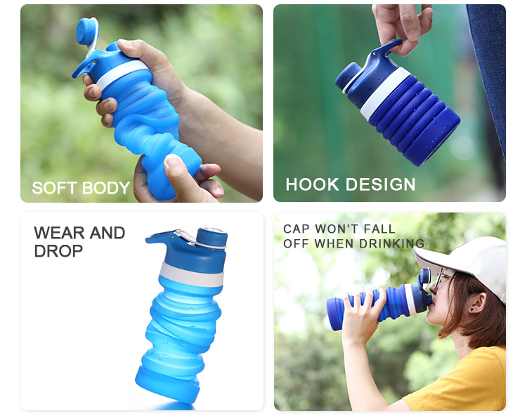promotional collapsible water bottle
