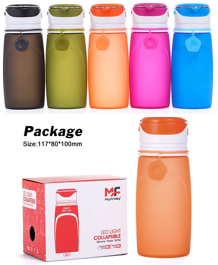 led water bottle package