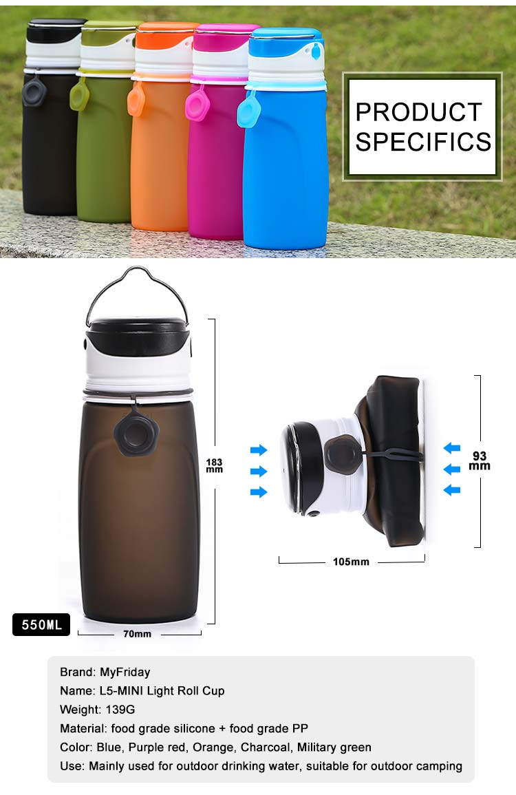 Led water bottle wholesale
