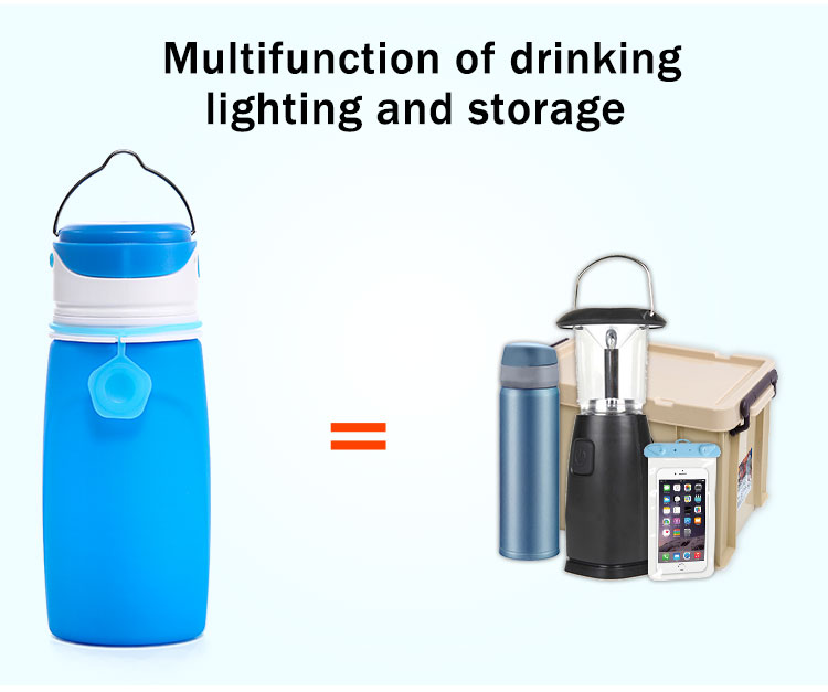 multifunction led water bottle
