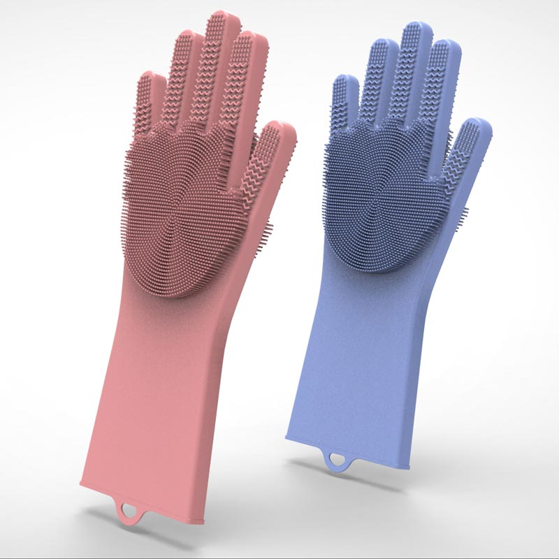 custom dishwashing gloves