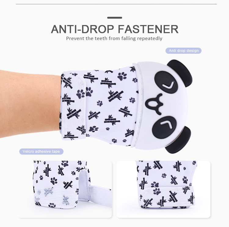 Panda Silicone Teething Glove Wholesale