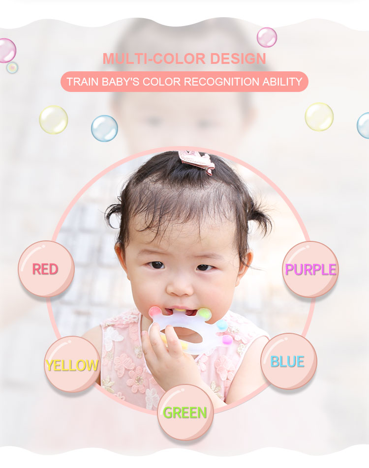 Silicone cooling teether