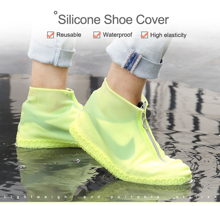 Silicone Shoe Covers | Waterproof Overshoes Rain Shoe Covers Reusable