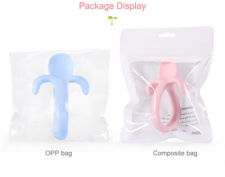 Silicone baby toothbrush packaging